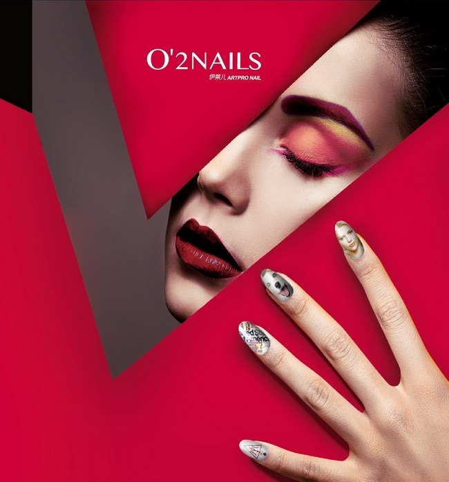 O'2 Nails impression sur ongles